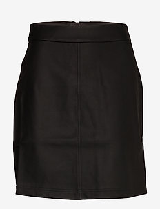 Becky Skirt - midinederdele - black