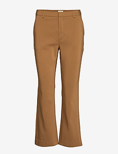 Simone Trousers - wide leg trousers - cinnamon
