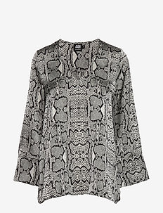 Athena Blouse - GRAPHIC SNAKE