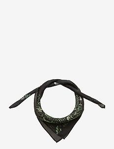 Leia Scarf - scarves - green snake