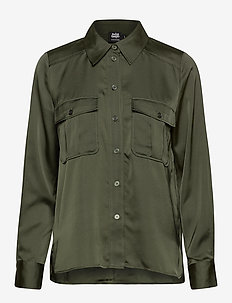 Penelope Pocket Shirt - DEEP KHAKI