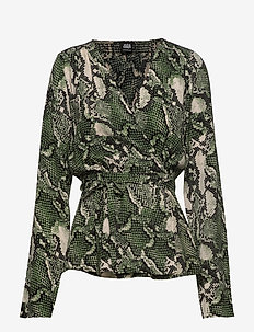 Isabel Blouse - GREEN SNAKE