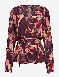 Isabel Blouse - PURPLE TULIP