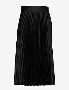 Cleo Skirt - midinederdele - black