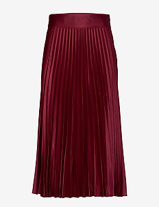 Cleo Skirt - midinederdele - bordeaux