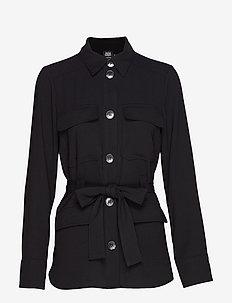 Nike Jacket - light jackets - black