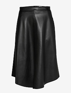 Kendra Skirt - midinederdele - black