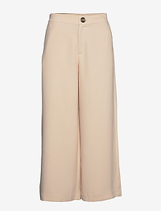 Louise Trousers - bukser med brede ben - blush
