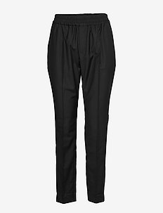 Bea Trousers - spodnie proste - black