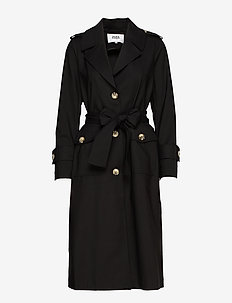 Eve Trenchcoat - trenchs - black