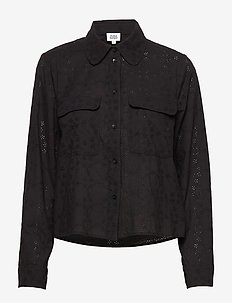 Felice Shirt - overshirts - black