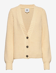 Jolanda Cardigan - swetry rozpinane - pale yellow