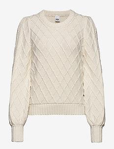 Alva Sweater - trøjer - eggshell