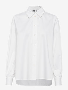 Sophie Shirt - long-sleeved shirts - white