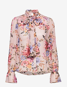 Liv Blouse - PINK FLOWER