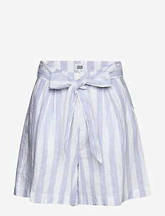Brooke Shorts - casual shorts - blue/white