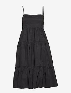 Elena Dress - robes midi - black