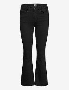 Jo Jeans - flared jeans - black
