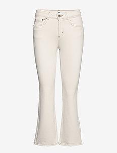 Jo Jeans - flared jeans - ecru