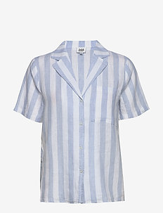 Brooke Shirt - kortärmade skjortor - light blue