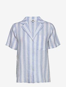 Brooke Shirt - lyhythihaiset paidat - light blue