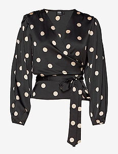Boozt Valentina Blouse - BLUSH DOT
