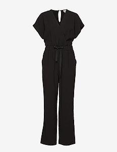 Minna Long Jumpsuit - jumpsuits - black