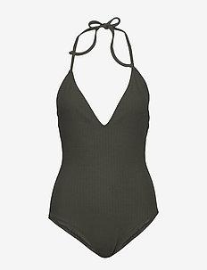 San Marino Swimsuit - stroje kąpielow - khaki