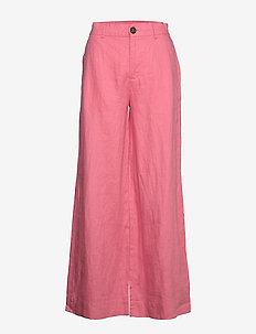 Maria Trousers - vide bukser - pink