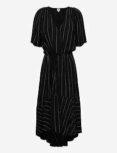 Alexa Dress - midi dresses - black logo