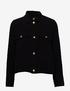 Dina Jacket - denim jackets - black