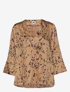 Nell Blouse - long sleeved blouses - sand flower