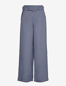 Freja Trousers - casual trousers - greyish blue
