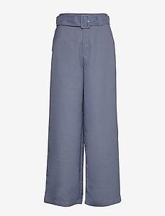 Freja Trousers - pantalons casual - greyish blue