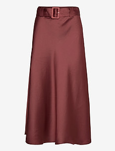 Myra Skirt - maxi skirts - dusty rose
