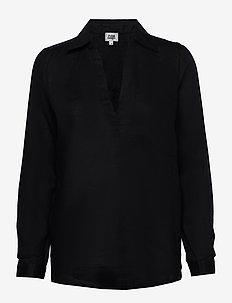 Jaden Shirt - long-sleeved shirts - black