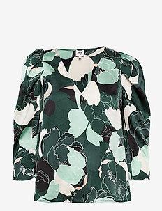Athea Blouse - bluzki z długimi rękawami - forrestflower