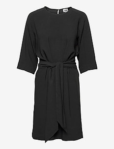 Angela Dress - midi dresses - black