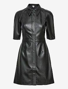 Carmella Dress - shirt dresses - black
