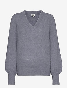 Valeria Sweater - jumpers - slate blue