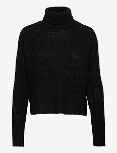 Jaida Turtleneck - turtlenecks - black