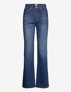 Lo Flare Jeans - flared jeans - dk blue wash