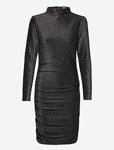 Dina Dress - midi dresses - metallic