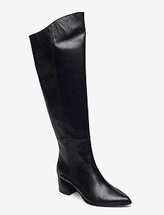 Kansas Boots - lange laarzen - black