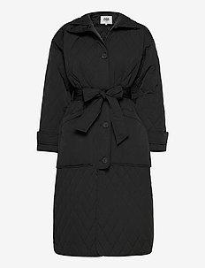 Unni Coat - padded coats - black