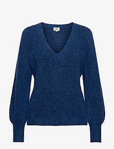 Valeria Sweater - jumpers - dk vivid blue