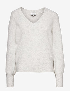 Valeria Sweater - jumpers - lt grey