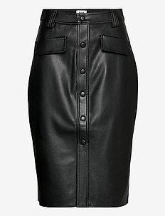Karin Skirt - midi kjolar - black