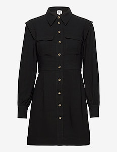 Parker Dress - shirt dresses - black