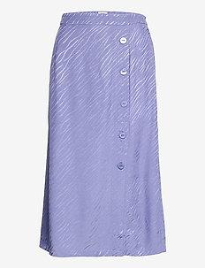 Elina Skirt - maxi röcke - violet blue